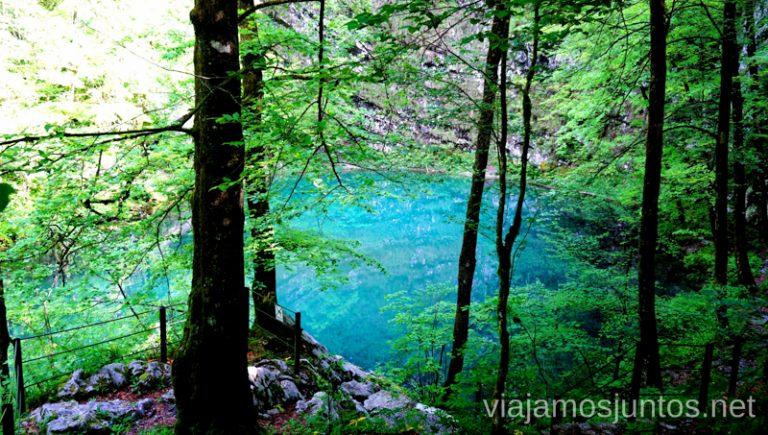 Lago Divje o Salvaje Qué ver y hacer en Idrija Eslovenia #EsloveniaJuntos