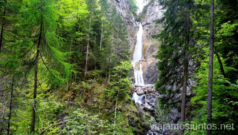 Cascadas mágicas Qué ver en el Parque Nacional de Triglav. Eslovenia #EsloveniaJuntos