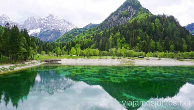 Lago Jasna. Qué ver en el Parque Nacional de Triglav. Eslovenia #EsloveniaJuntos