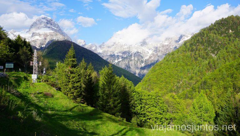 Paso Predil, lado esloveno.Qué ver en PN Triglav. Eslovenia #EsloveniaJuntos