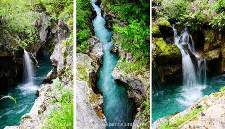 Ruta de los desfiladeros del río Soča. Qué ver y hacer en Valle de Soca Eslovenia #EsloveniaJuntos