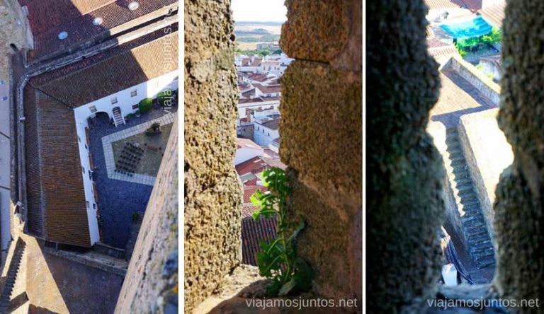 Vistas desde el castillo de Olivenza. Qué ver en Olivenza #Experiencias_Alqeuva Extremadura