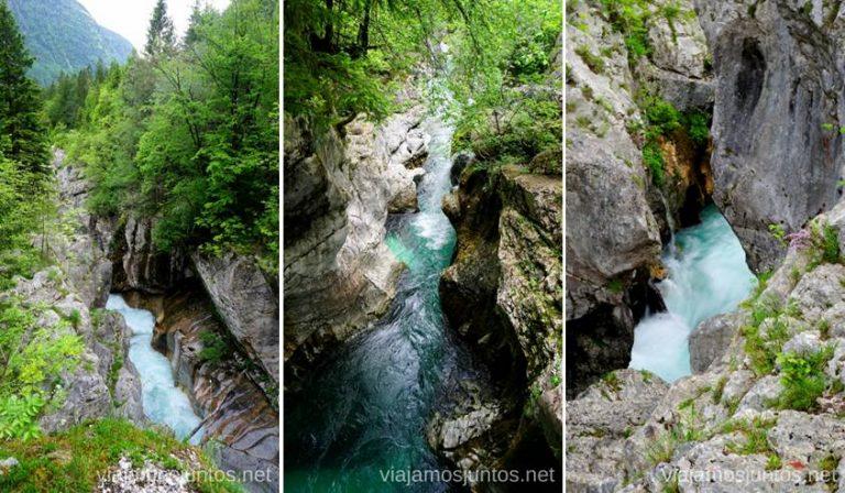 Valle Soca y sus aguas turquesas. Qué ver en PN Triglav. Eslovenia #EsloveniaJuntos