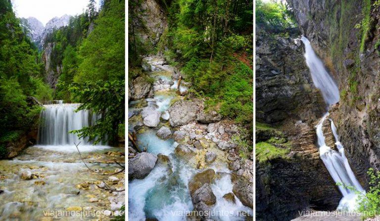 Ruta de la cascada Martuljek. Qué ver en PN Triglav. Eslovenia #EsloveniaJuntos
