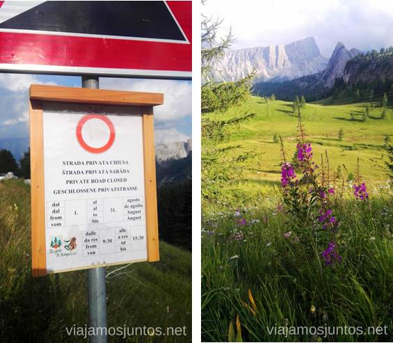 Carretera Cerrada Italia #ItaliaJuntos Los Dolomitas Italy montanas mountains