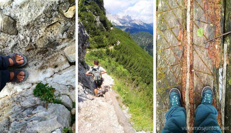 ¿Qué llevarías puesto para tus rutas en los Dolomitas? Italia #ItaliaJuntos montanas mountains