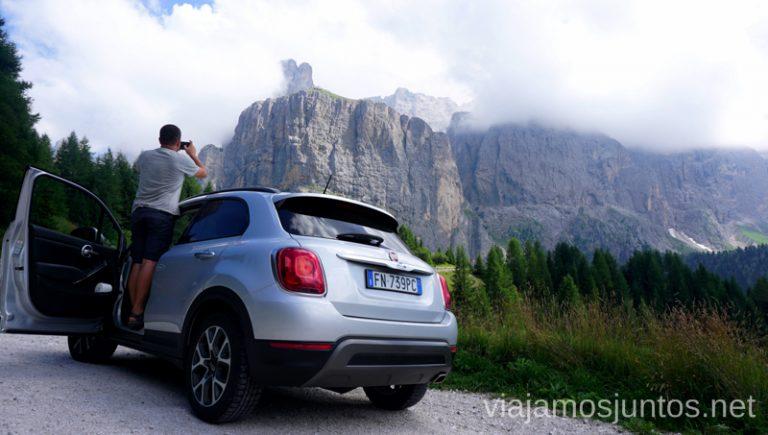 Vistas desde las carreteras de Italia. #ItaliaJuntos Los Dolomitas Italy montanas mountains