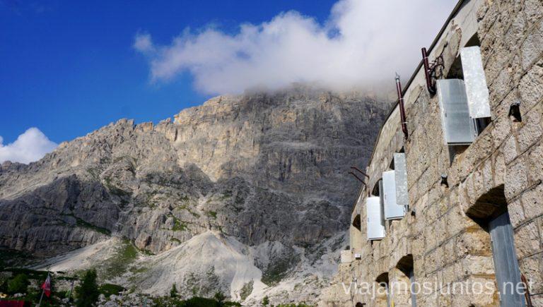 Refugios de montaña en el Norte de Italia. #ItaliaJuntos