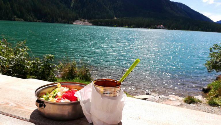 ¿Una comida con vistas? Italia #ItaliaJuntos Los Dolomitas Italy montanas mountains