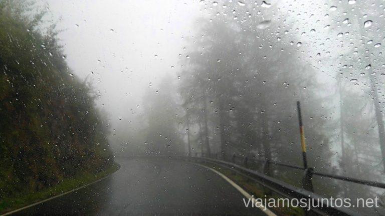 Lluvia en los Dolomitas. Italia #ItaliaJuntos Italy montanas mountains