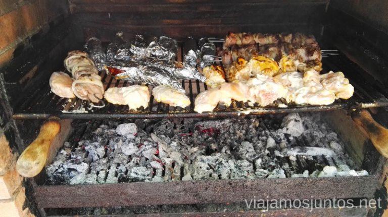 Parillada internacional: española y ucraniana. Galicia