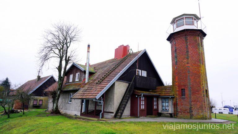 Faro Oustadvaris Países Bálticos. Viajar a Países Bálticos en invierno. Lituania