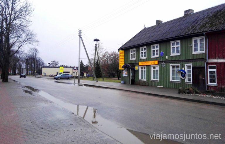 Rusne. Países Bálticos. Viajar a Países Bálticos en invierno. Lituania