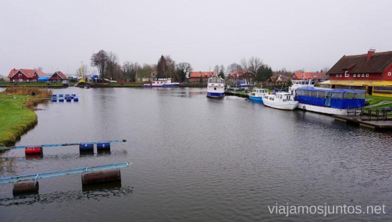 Minija, la Venecia de Lituania. Países Bálticos. Viajar a Países Bálticos en invierno. Lituania
