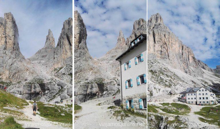 Refugio Vajolet. Italia #ItaliaJuntos Los Dolomitas