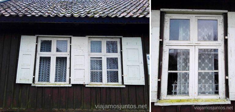 Museo etnográfico de Rusne. Países Bálticos. Viajar a Países Bálticos en invierno. Lituania