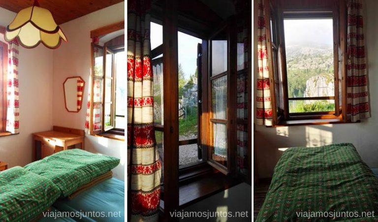 Refugio Cique Torri (Cinco Torres), Los Dolomitas. #ItaliaJuntos Norte de Italia Los Dolomitas