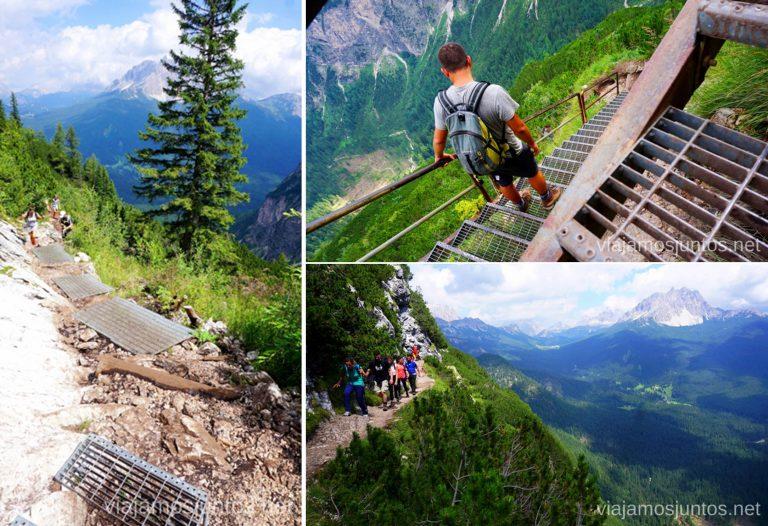Ruta de acceso al lado di Sorapis. Italia #ItaliaJuntos Los Dolomitas Italy ruta de senderismo