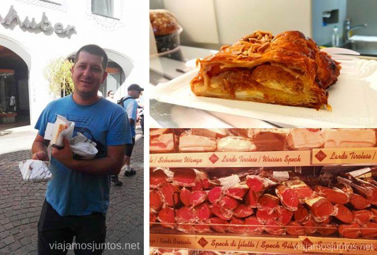 Amores de Denya: strudel y speck. #ItaliaJuntos Norte de Italia Los Dolomitas