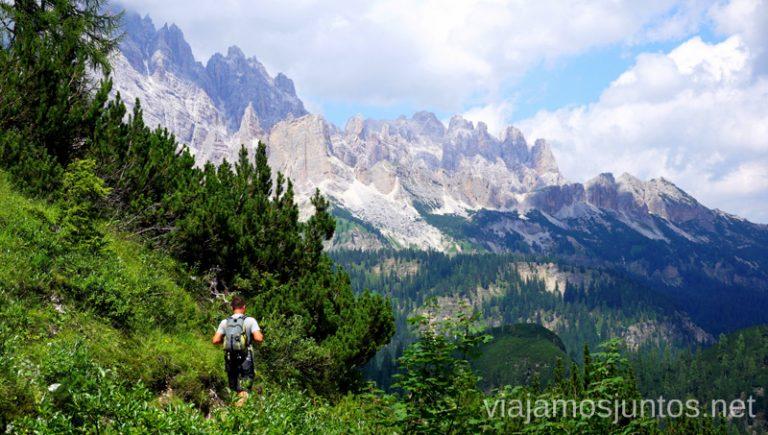 ¡Majestuoso! Italia #ItaliaJuntos Los Dolomitas Italy ruta de senderismo