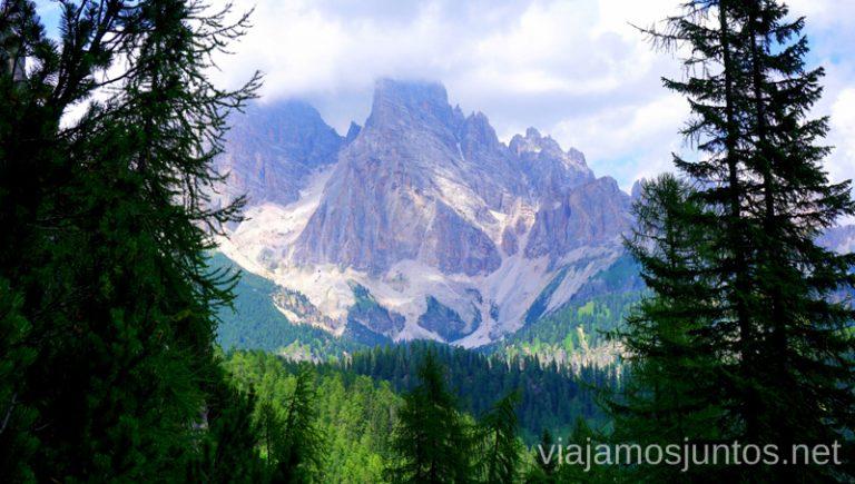 Vistas que nos acompañan durante la vuelta. Italia #ItaliaJuntos Los Dolomitas Italy ruta de senderismo