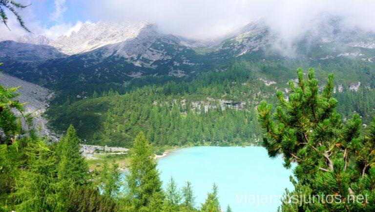 Sorapis desde lo alto. Italia #ItaliaJuntos Los Dolomitas Italy ruta de senderismo