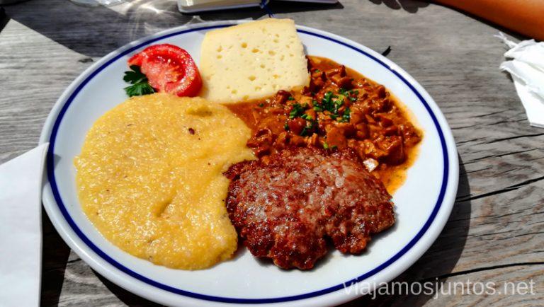 Uno de nuestros platos favoritos de nuestras ruta por los Dolomitas de 8 días. #ItaliaJuntos Norte de Italia