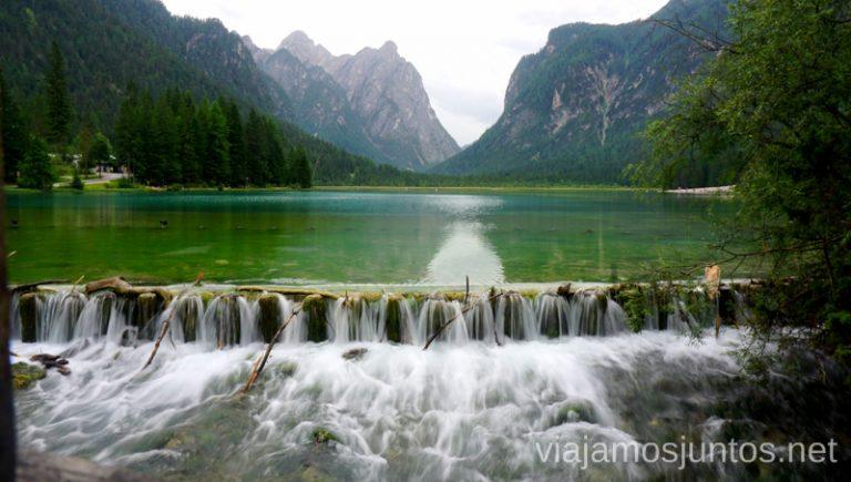 Lago Dobbiaca. #ItaliaJuntos Norte de Italia Los Dolomitas