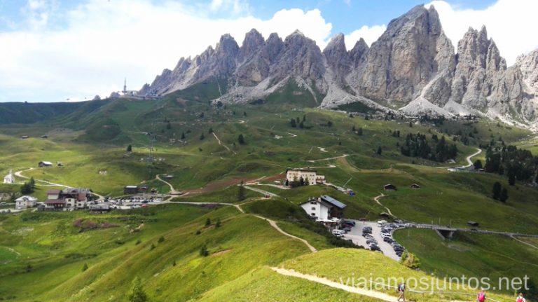 Mirador desde el paso (passo) Gardena. #ItaliaJuntos Norte de Italia Los Dolomitas