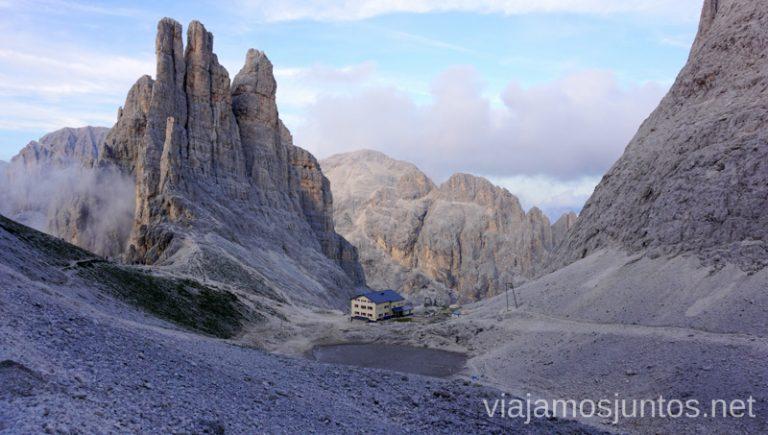 Las Torres de Vajolet. #ItaliaJuntos Norte de Italia Los Dolomitas