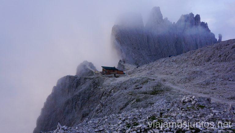 Refugio Passo Santner. Italia #ItaliaJuntos Los Dolomitas