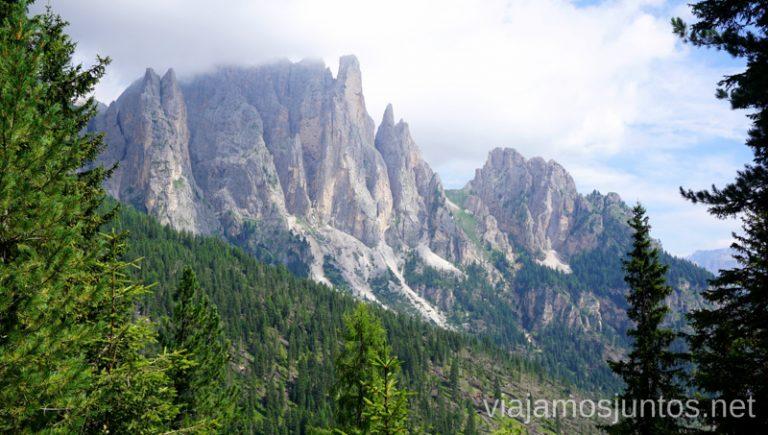 Camino hacia las Torres de Vajolet. Italia #ItaliaJuntos Los Dolomitas