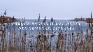 Parque Regional del Delta del Nemunas. Lituania