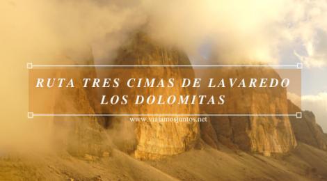 Tres Cimas de Lavaredo. Los Dolomitas. Italia.