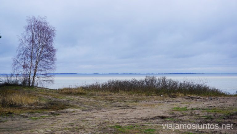 Playas de Curlandia. Viajar a Países Bálticos en invierno.