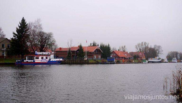 Minija - la pequeña Venecia Lituana. Qué ver y hacer en el Parque Regional Delta del Nemunas Países Bálticos en invierno.