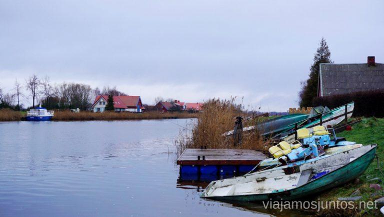 Minje - la Venecia de Lituania. Qué ver y hacer en el Parque Regional Delta del Nemunas Países Bálticos en invierno.