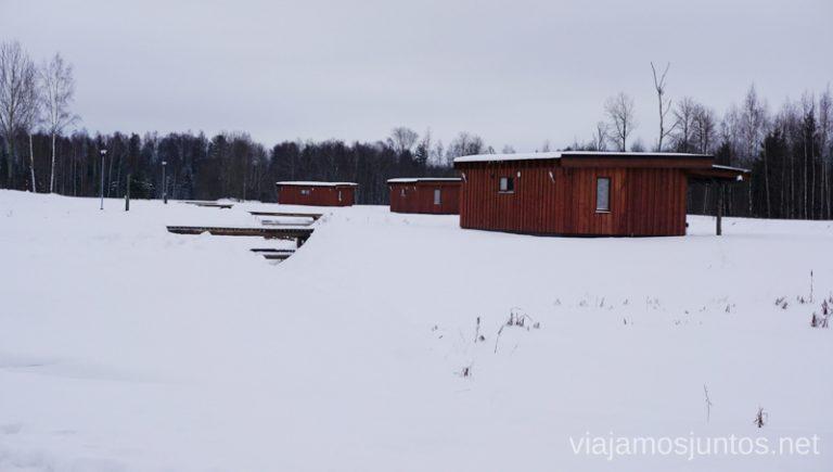 Alojamiento Diksala, Letonia. Viajar a Países Bálticos en invierno.