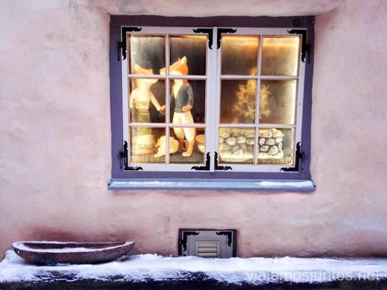 Tallin en Navidad. Viajar a Países Bálticos en invierno.