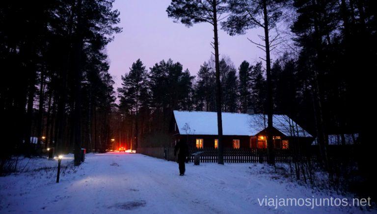 Museo etnográfico de Estonia, Tallin. Viajar a Países Bálticos en invierno.