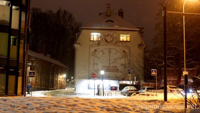Museo de la ciudad de Tartu, Estonia. Viajar a Países Bálticos en invierno.