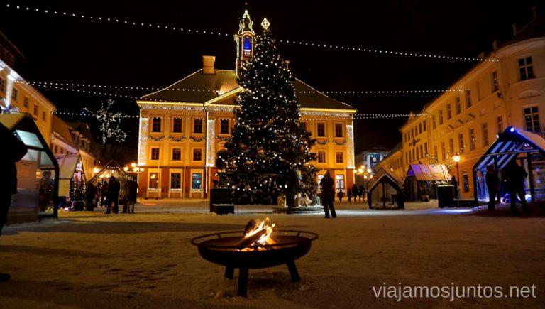 Tartu, la capital espiritual de Estonia. Viajar a Países Bálticos en invierno.