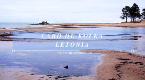 Qué ver en el Cabo de Kolka, Letonia. Viajar a Países Bálticos en invierno.