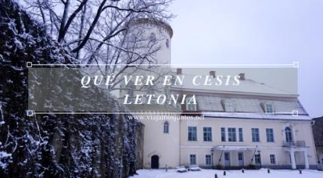 Qué ver en Cesis, Letonia.