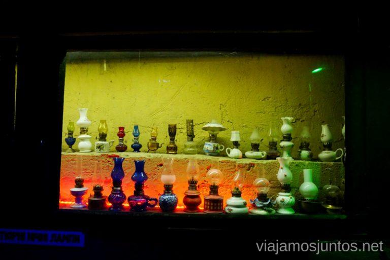 Exposición de Lámparas de Queroseno en Gasova Lampa, Leópolis. Qué ver en Lviv, Ucrania