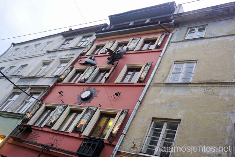 Casa de las Leyendas en el Barrio judío de Leópolis. Qué ver en Lviv, Ucrania