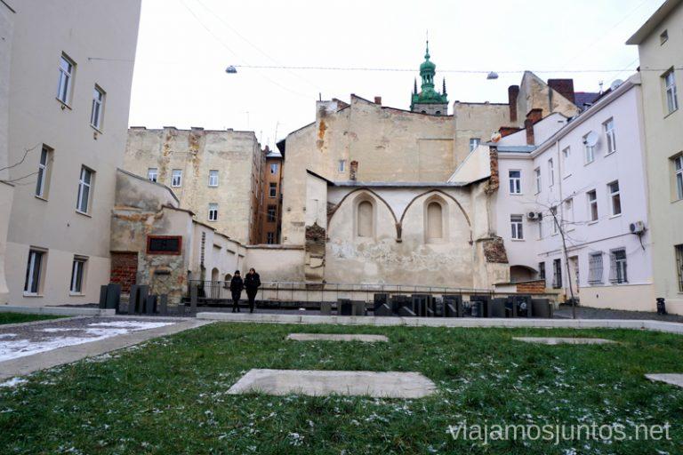 """Sinagoga """"La Rosa Dorada"""" en Leópolis. Qué ver en el barrio judio de Lviv, Ucrania"""