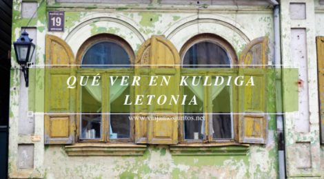 Kuldiga, Letonia.