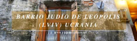 Barrio judío en Lviv. Ucrania