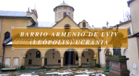 Barrio armenio de Lviv (Leópolis) Ucrania